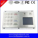 Telclado numérico industrial del quiosco del metal con el Touchpad