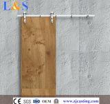 Matériel en bois blanc ou noir de porte de grange