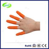 Lit de camp orange industriel de doigt de latex libre de DÉCHARGE ÉLECTROSTATIQUE de résistance de dérapage