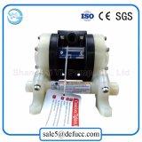 Micro bomba de diafragma dobro pneumática plástica