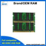 Польностью совместимый RAM 2GB DDR2 компьтер-книжки 128MB*8