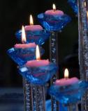 Плавая миниые свечки делают декор водостотьким дома штанги свадебного банкета воска парафина