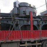 Вертикальный утес дробилки удара вала задавливая машину завода гранита оборудования