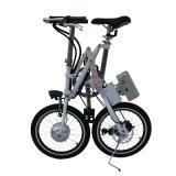 7개 속도를 가진 18 인치 탄소 강철 접히는 E 자전거
