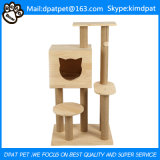 Großhandelskatze-kletternder Rahmen-einfache Katze-Baum-Großverkauf-Katze-Bäume