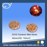 Bloque especial del filtro del carburo de la silicona para el agua del metal