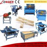 Bâton en bambou manuel efficace élevé faisant la machine