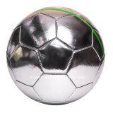 Sfera di calcio d'argento della firma dello specchio per la promozione