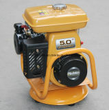 Motor de gasolina similar 5HP do pisco de peito vermelho com frame e acoplamento