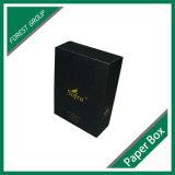 Wein-Verpackungs-Kasten mit heißem Folien-Firmenzeichen