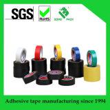 Bande électrique en plastique de PVC d'adhésif noir