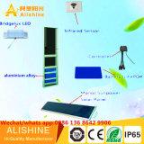 Luz solar al aire libre del alto brillo LED del proyecto del gobierno de la iluminación del camino 5 años de garantía