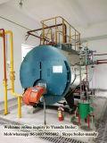 Gás de Wns e petróleo automáticos - caldeira de vapor despedida, caldeira de vapor de 3 toneladas com o queimador de Italy Baltur