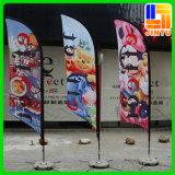 2016 bandeiras personalizadas da bandeira da vela do Teardrop de pólo de bandeira
