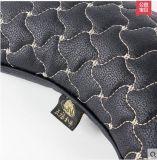 Het patroon-Beige van de Windmolen van de Vorm van het Been van het Hoofdkussen van de Hals van de Hoofdsteun van de auto