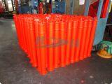 Delineator van het polyethyleen de Plastic t-Hoogste Post van het Parkeren