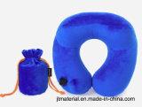 Prensa almohadilla inflable del cuello forma de U Air Push almohada inflable del cuello