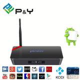 La boîte androïde P&Y à la guimauve TV de l'androïde 6.0 de faisceau du BT Octa de WiFi du cadre 2g 16g de Pendoo X92 S912 TV possèdent le meilleur service d'OEM de marque