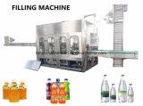 Llenado de bebidas líquidas completas Embotellado de plantas de envasado Maquinaria para botellas de mascotas