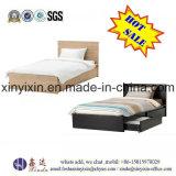 Underbed 서랍 (B11#)를 가진 오크 색깔 나무로 되는 침대