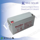 Bateria profunda solar da potência solar do ciclo da bateria 12V 150ah