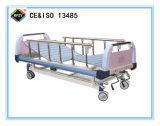 (A-52) het Beweegbare Bed van het Ziekenhuis van de dubbel-Functie Hand met ABS het Hoofd van het Bed