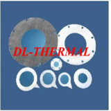 Classe 1350 do papel 6mm da fibra cerâmica de isolação térmica densamente
