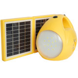Luz de acampamento recarregável solar portátil ao ar livre da lanterna do diodo emissor de luz