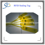 Étiquette en plastique de joint d'IDENTIFICATION RF de fréquence ultra-haute pour le management logistique de marchandises