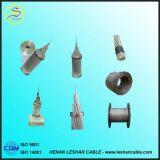 Conductor descubierto de arriba reforzado acero de aluminio del IEC 16~1250mm2 ACSR del conductor