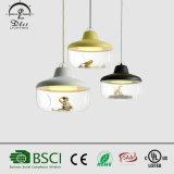 Hot Sales Simple Acrílico bola iluminação de economia de energia para crianças sala pendente lâmpada