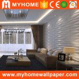 Panneau de mur 3D décoratif d'installation simple décorative intérieure imperméable à l'eau