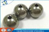 sfera dell'acciaio inossidabile di 12.7mm con il foro