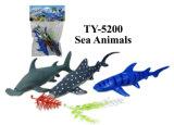 Het grappige Stuk speelgoed van de Dieren van de Wereld van Dinosaurussen