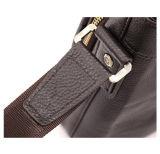 Echtes Leder-Geschäfts-Form-Schulter-Beutel des Mannes (RS-GR0014)