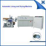 Macchina dell'essiccatore e del rivestimento per la riga automatica del coperchio della latta