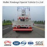 vrachtwagen van het Platform van het Werk van 13.5m Nissan de Lucht met Haak