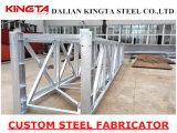 La INMERSIÓN caliente galvanizó el marco del soporte de la estructura de acero
