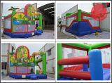 Castelo 2017 inflável novo para o parque de diversões/salto inflável combinados (T3-250)
