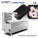 Máquina contínua automática da selagem da bandeja