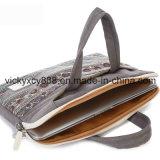 Mann-Frauen-Segeltuch-einzelne Schulter-Computer-Handtaschen-Hülse (CY3592)