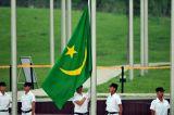 Изготовленный на заказ сделайте водостотьким и No модели национального флага Мавритании национального флага Sunproof: NF-061