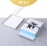 여가 만화 손가락으로 튀김 마분지 전자 선물 상자