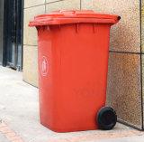 Spitzenlieferant 240 Liter HDPE haltbarer überschüssiges Sortierfach-Abfalleimer