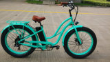 Motocicletta elettrica di conversione grassa della gomma con la bicicletta a pile del pedale