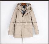 Short Dustcoat del cotone della donna