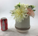 Bonsais de cerámica de las flores artificiales de la talla grande