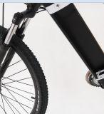 28インチによって隠される電池山の電気土のバイクかスポーツのEバイク