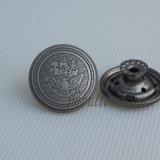 Кнопка джинсыов способа пушки черная для вспомогательного оборудования одежды