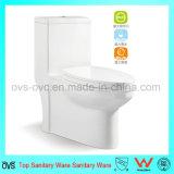 Heiße verkaufende einteilige gesundheitliche Ware-keramische Toilette für Badezimmer
